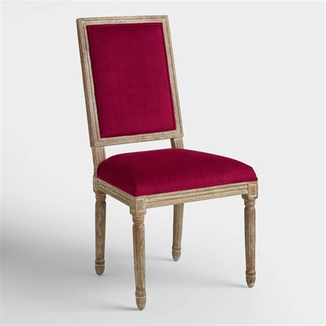merlot paige square back dining chairs set of 2 world