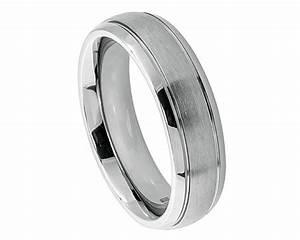 women titanium band womens wedding ring womens band women With womens titanium wedding ring