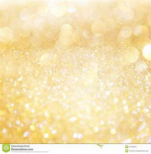 White And Gold Abstract Bokeh Lights Royalty Free Stock ...