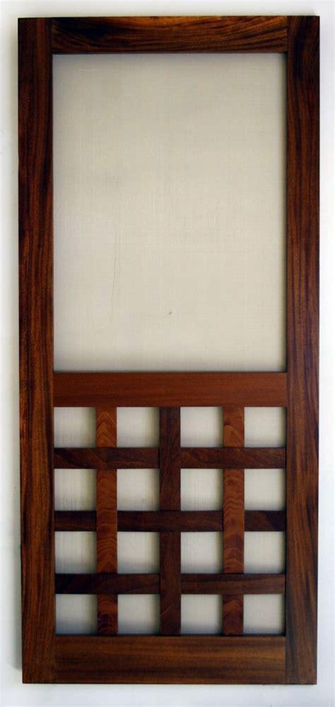 wooden screen door plans  woodworking projects plans