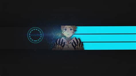 blue youtube banner anime bing images card  user