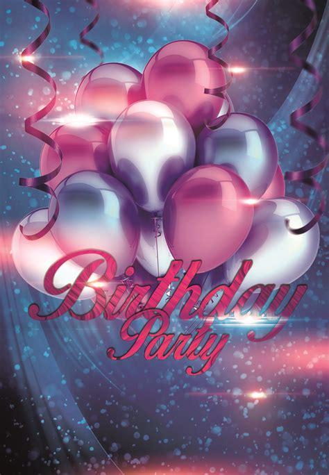birthday party balloons background balloon purple