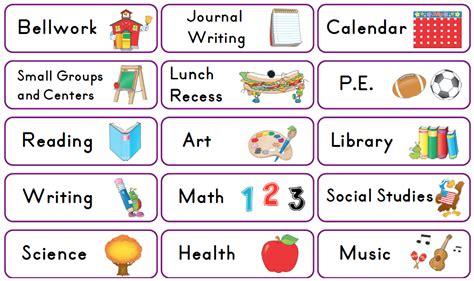 mrs solis s teaching treasures schedule cards freebie 812 | Screen Shot 2013 07 25 at 9.09.58 PM