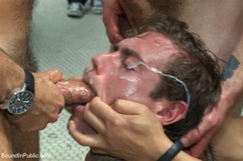 violent gay throat fucking fag