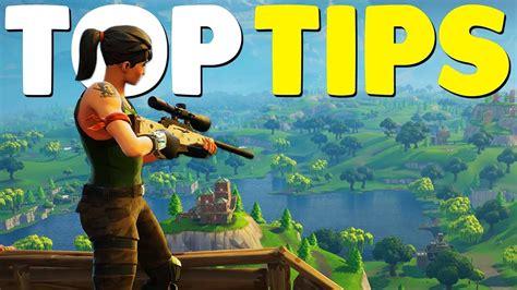 10 Ultimate Fortnite Battle Royale Tips Youtube