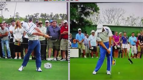 golf swing analysis louis oosthuizen motion golf swing analysis