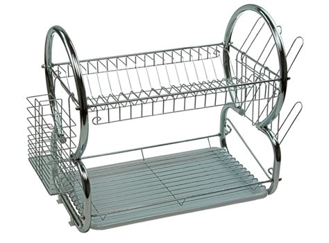 stainless steel dish rack 2 tier stainless steel dish rack space saver dish