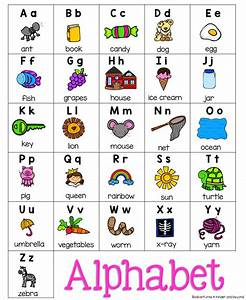 alphabet chart free this chart displays each letter of the With letter chart with pictures