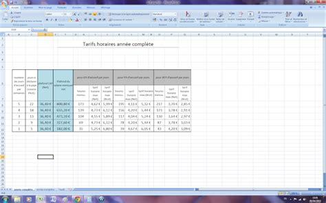 plafond paje pour calculer ses tarifs page 2