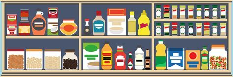 Clip Art of Food Pantry ? 101 Clip Art