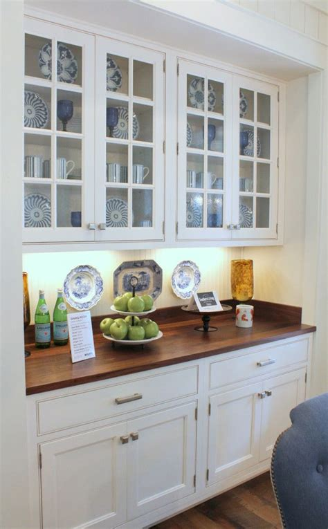 built in cabinets southern living idea house breakfast area built in cabinet