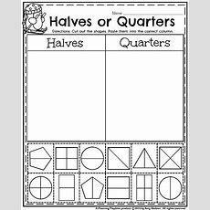 14 Best Maths  Half And Quarter Images On Pinterest  Math Fractions, Fractions For Kids And