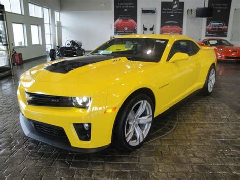Find New New 2013 Rally Yellow Supercharged Camaro Zl1