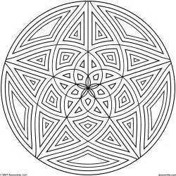 Circle Design Coloring Pages