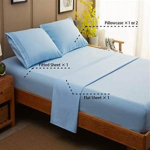 Sonoro, Kate, Bed, Sheet, Set, Super, Soft, Microfiber, 1800