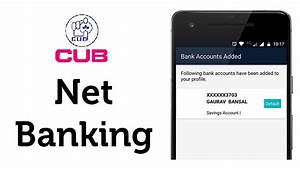 How To Register City Union Bank Net Banking Online Guide
