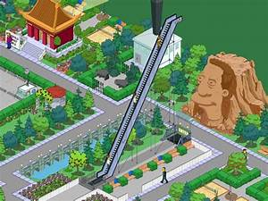 The Simpsons Tapped Out Escalator To Nowhere YouTube