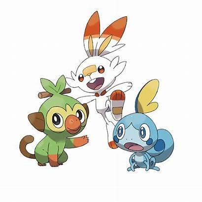 Pokemon Starter Evolutions Gen Starters Sword Shield