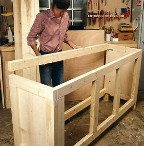 Fabriquer Meuble Bois : comment fabriquer un meuble de rangement en bois bricolage pinterest meubles bricolage ~ Voncanada.com Idées de Décoration