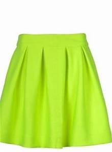 Green Tutu Skirt Neon Skater Skirt