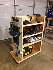 Woodworking Tool Storage Ideas : Brilliant Green
