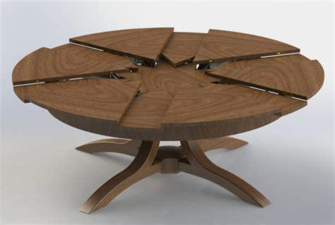 chambre med la table ronde extensible idées pratiques pour votre