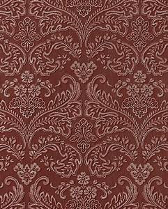 edem 755 26 3d barock prage tapete damask orient rot With balkon teppich mit tapeten exclusive