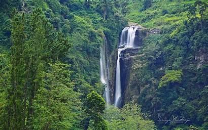 Sri Lanka Waterfall Nuwara Eliya Alpine Waterfalls