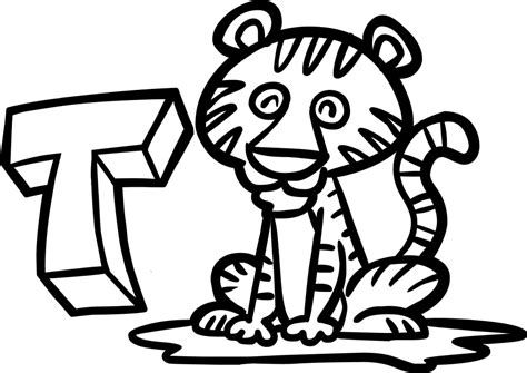 Tiger Cub Scouts Coloring Pages - Democraciaejustica