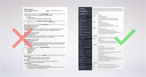 computer science resume sle complete guide 20