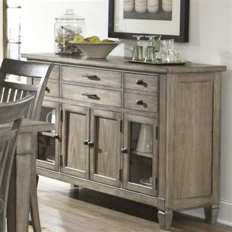 Wooden Buffets And Cabinets
