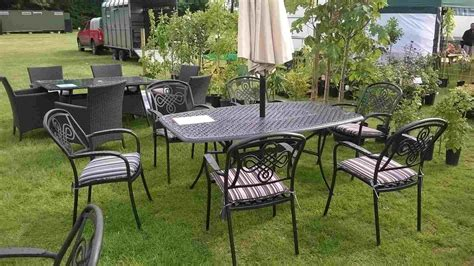 modern outdoor ideas small metal garden table french