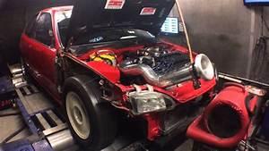 Tnb Honda Civic Eg - Nitrous B-series On E85