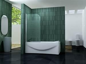 Duschtrennwand Badewanne Glas : duschtrennwand one f badewanne ~ Michelbontemps.com Haus und Dekorationen