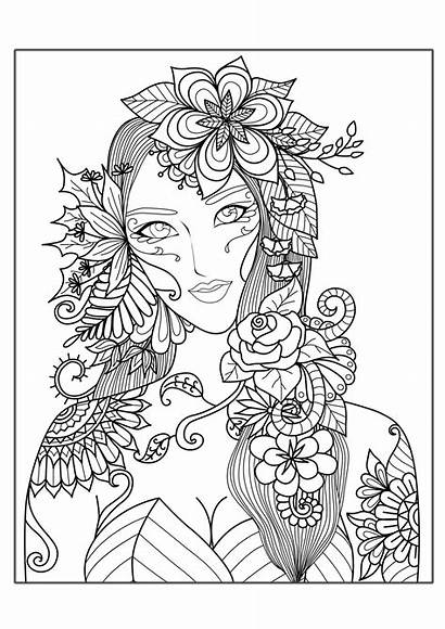 Coloring Adults Pages Hard Complex