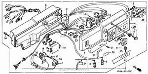 Honda Em2500xk1 A  C Generator  Jpn  Vin  Ezcn