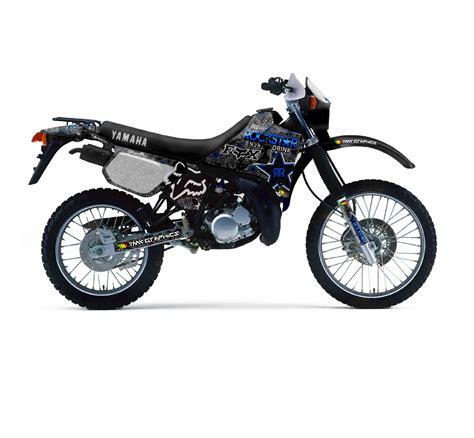 Yamaha Dt 125 R  Rockstar Fox Graphics Series  Tmx Graphics