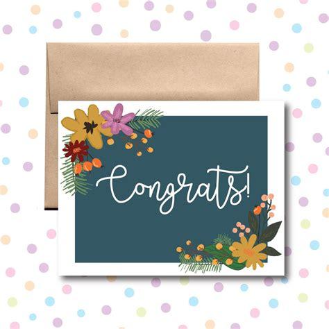 Congratulations Card Little Dog Paper Company