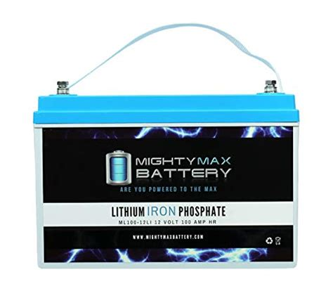 interstate battery 12v marine rv lithium mighty batteries max 100ah brand replacement