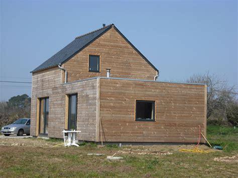 maison plein pied bois constrution maison ecologique construction maison plein pied construction maison