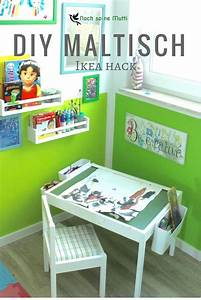 DIY Maltisch Im Kinderzimmer Malecke Nach Montessori