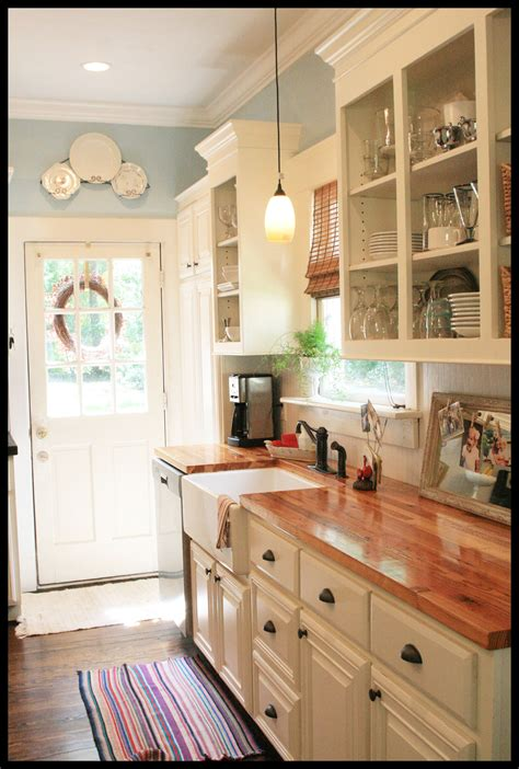 My Kitchen At The Cottage {before And After} ‹ Skies Of