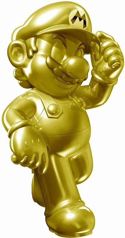 Golden Games Mario Kart Statues Robo Blast