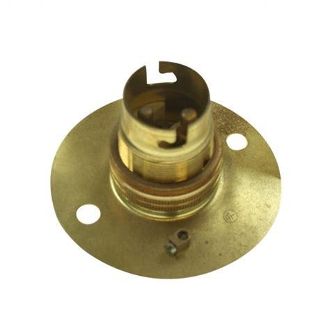 brass bayonet cap light bulb holder at uk electrical supplies
