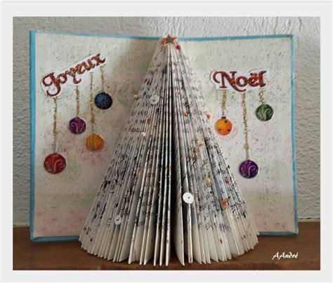 Pliage Livre Sapin Image Pliage De Livre Le Sapin Fleur De Patch Skyrock Pliage Livres
