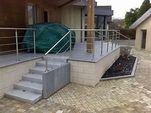 mur de soutenement terrasse maisonreveclub With maison terrain en pente 12 mur gabion dans le jardin moderne un joli element fonctionnel