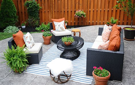 Decorating Ideas For Patios by Patio Decorating Ideas A Modern Chic Patio Refresh The