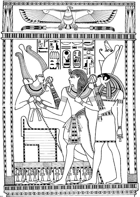 Ancient egypt coloring pages - coloringtop.com … | Mystery in History | Ancie…