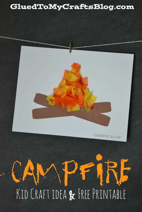 best 25 campfire crafts ideas on campfire 988 | 151a472047220f6129f2a760274c4b32 campfire crafts for kids campfire art preschool