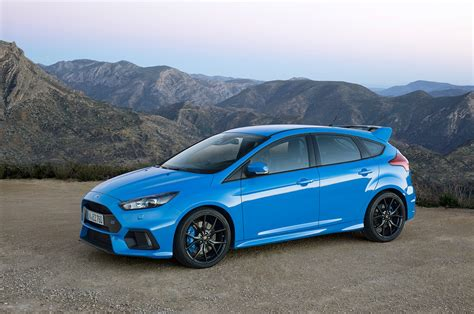 Ford Focus Rs' Drift Mode Doesn't Magically Make You A Drifter